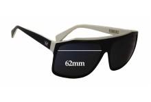 AM Eyewear Alex Replacement Sunglass Lenses - 62mm wide