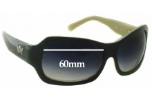 AM Eyewear Jojo Replacement Sunglass Lenses - 60mm Wide