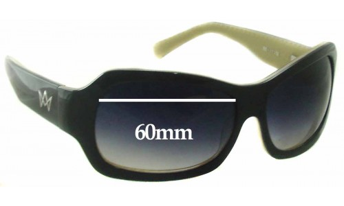 AM Eyewear Jojo Replacement Sunglass Lenses - 60mm Wide