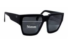 AM Eyewear Karmi Replacement Sunglass Lenses - 56mm wide