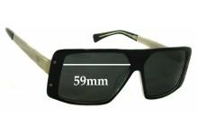 AM Eyewear Rick Replacement Sunglass Lenses - 59mm Wide