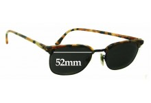 Anglo American Optical Mod 74 Replacement Sunglass Lenses - 52mm Wide