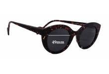 Anne Et Valentin Scarlett Replacement Sunglass Lenses - 49mm wide