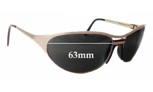 Arnette Steel Raven Replacement Sunglass Lenses - 63mm Wide