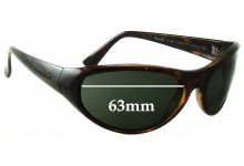 Arnette 4188 Raven Replacement Sunglass Lenses - 63mm wide