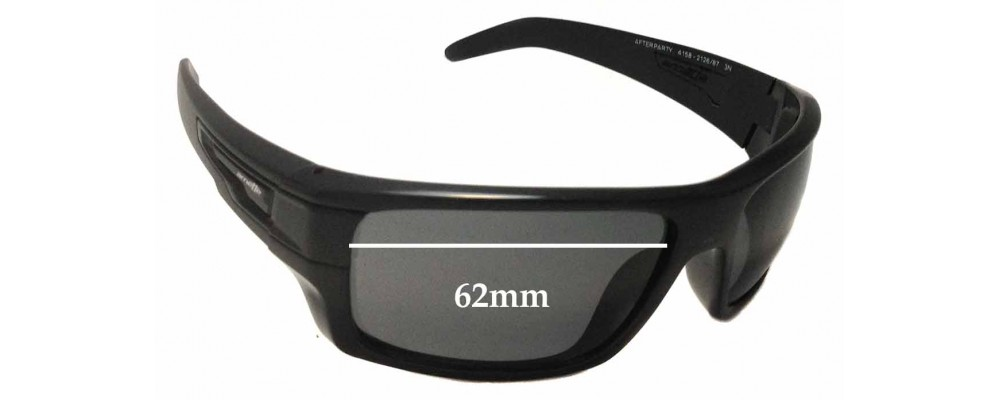 Arnette After Party AN4158 Replacement Sunglass Lenses - 62mm Wide 334534002ea