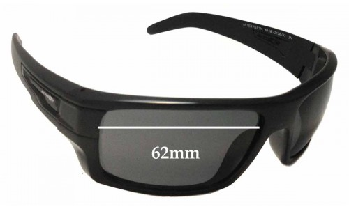 Arnette After Party AN4158 Replacement Sunglass Lenses - 62mm Wide
