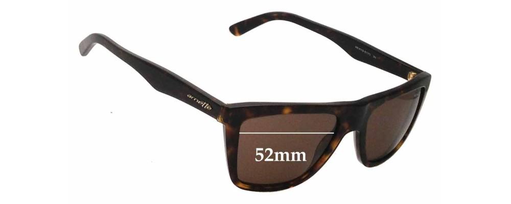 Arnette Agent AN4119 Replacement Sunglass Lenses- 52mm wide