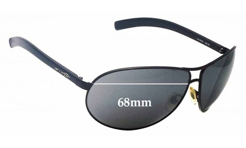 Arnette Lock Down AN3049 Replacement Sunglass Lenses - 68mm Wide