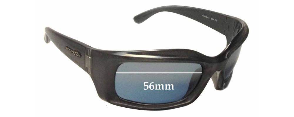 Arnette AN4045 Replacement Sunglass Lenses - 56mm wide