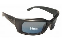 Arnette AN4045 Replacement Sunglass Lenses - 56mm wide