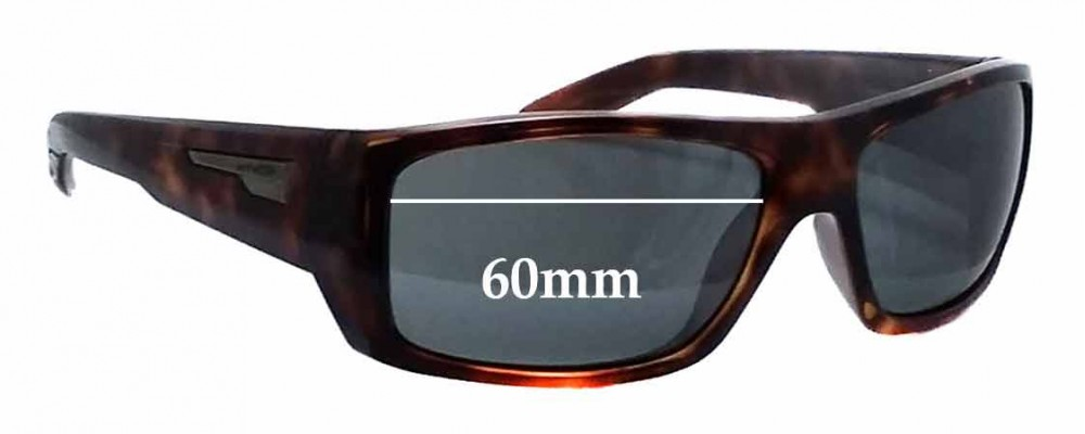 Arnette Munson AN4164 Replacement Sunglass Lenses - 60mm wide