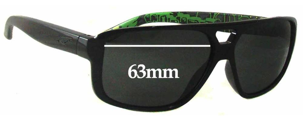 Arnette Fat City AN4189 Replacement Sunglass Lenses- 63mm wide
