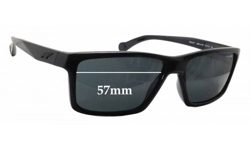 Arnette Biscuit AN4208 Replacement Sunglass Lenses - 57mm wide