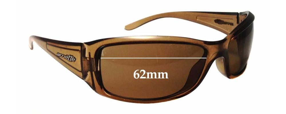 Arnette Caller AN4127 Replacement Sunglass Lenses - 62mm Wide