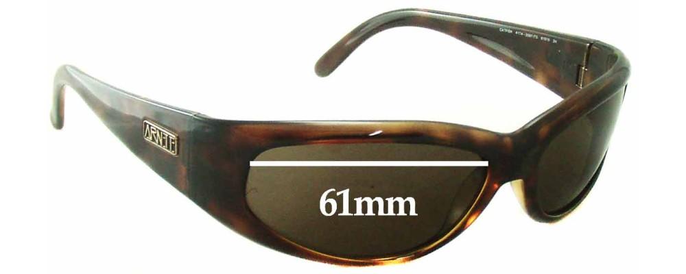 Arnette Catfish AN4174 Replacement Sunglass Lenses - 61mm wide