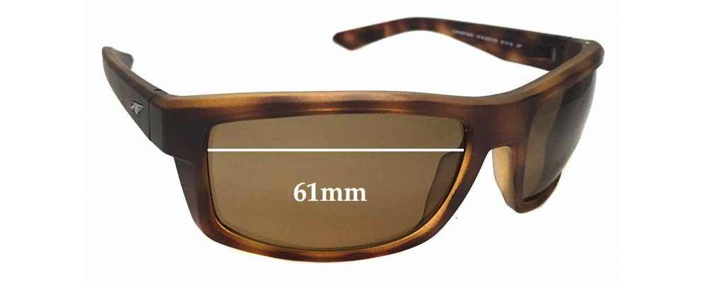 Arnette Corner Man AN4216 Replacement Sunglass Lenses - 61mm Wide
