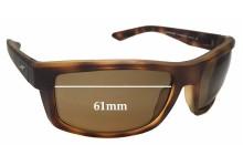 Arnette Corner Man AN4216 Replacement Sunglass Lenses - 61mm Wide