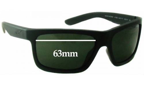 Arnette Easy Money AN4190 Replacement Sunglass Lenses - 63mm wide