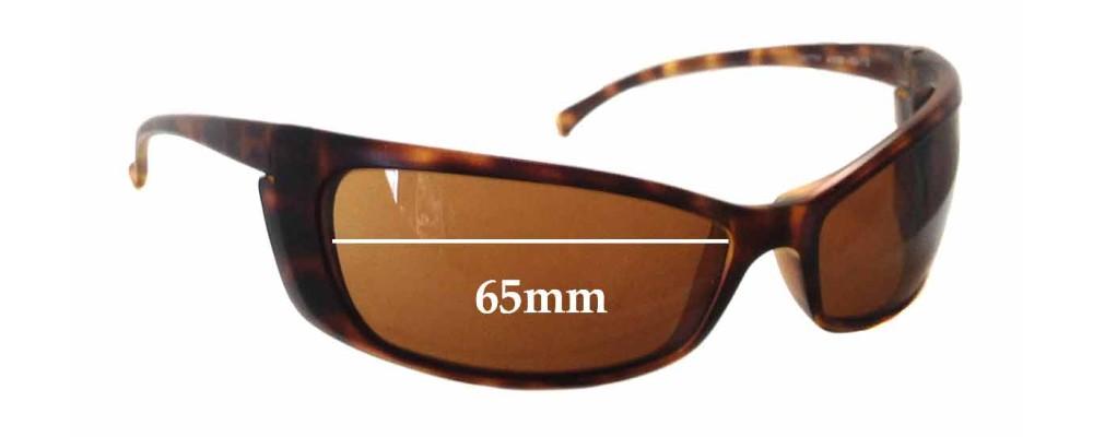 Arnette Gritty AN4008 Replacement Sunglass Lenses - 65mm wide
