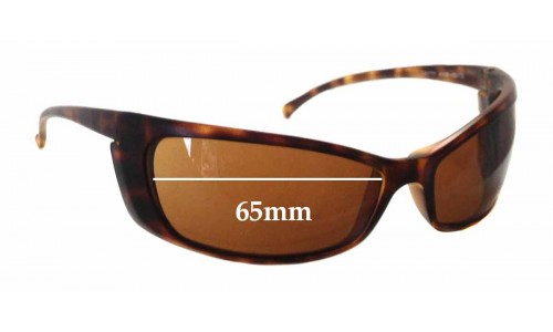 Arnette Gritty AN4008 Replacement Sunglass Lenses - 65mm wide
