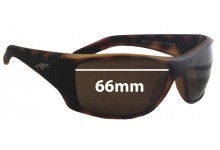Arnette Heist 2.0 AN4215 Replacement Sunglass Lenses - 66mm wide