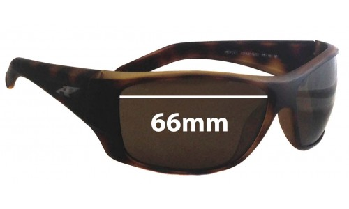 Sunglass Fix Replacement Lenses for Arnette Heist 2.0 AN4215 - 66mm wide