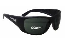 Arnette Heist AN4135 Replacement Sunglass Lenses - 66mm wide