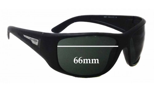 Arnette Heist AN4135 Replacement Sunglass Lenses - 66mm wide