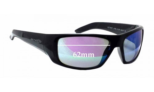 Arnette AN4182 Hot Shot Replacement Sunglass Lenses - 62mm wide