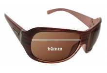 AN4090 Arnette Myth Replacement Sunglass Lenses 64mm wide