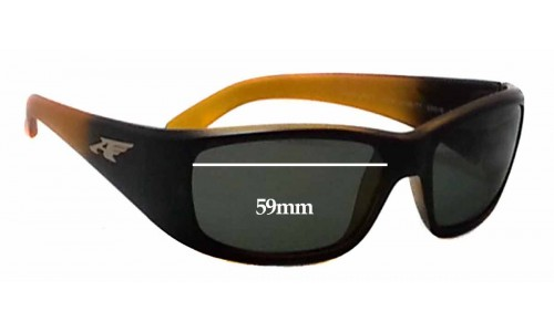 Arnette Quick Draw 4178 Replacement Sunglass Lenses - 59mm wide