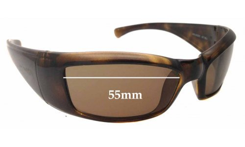 Sunglass Fix Replacement Lenses for AN4025 Arnette Rage - 55mm wide