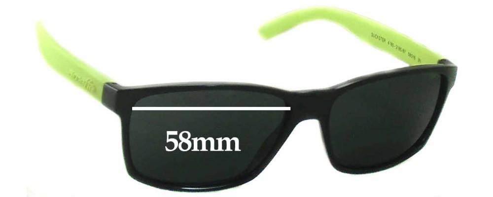 Arnette Slickster AN4185 Replacement Sunglass Lenses- 58mm wide