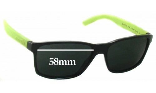 Arnette Slickster AN4185 Replacement Sunglass Lenses- 58mm wide