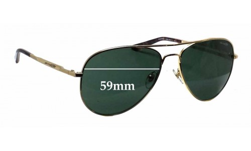 Arnette AN3065 Trooper Replacement Sunglass Lenses - 59mm wide