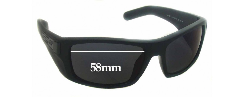 Arnette Two-Bit AN 4197 Replacement Sunglass Lenses 58mm wide