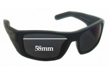 Arnette Two-Bit AN 4197 Replacement Sunglass Lenses 58mm wide