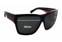 Arnette Unknown Replacement Sunglass Lenses - 64mm wide
