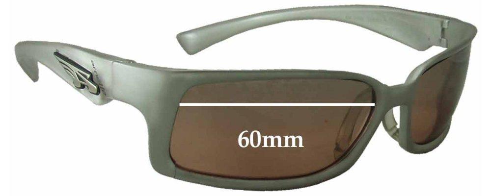 Arnette AN3038 Replacement Sunglass Lenses - 60mm Wide