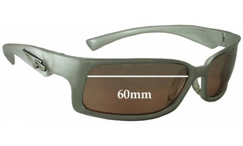 Arnette AN3038 Sunglass Replacement Lenses - 60mm Wide