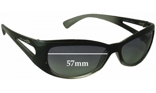 Arnette AN4056 Replacement Sunglass Lenses - 57mm Wide