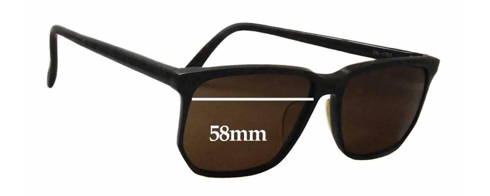 Bada Grace 555 Replacement Sunglass Lenses - 58mm wide