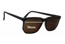 Bada Grace 555 Replacement Sunglass Lenses - 58mm wide
