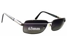 Bill Bass Inglewood 25318 Replacement Sunglass Lenses - 63mm Wide