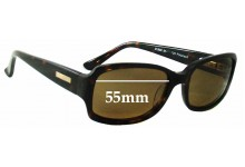 Bill Bass Lemont Replacement Sunglass Lenses - 55mm wide