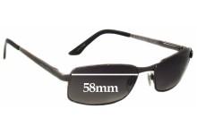 Bill Bass Norton Replacement Sunglass Lenses - 58mm wide