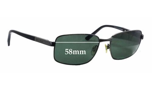 Bill Bass Ollie 25418 Replacement Sunglass Lenses - 58mm wide