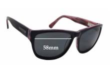 Bill Bass Petra Replacement Sunglass Lenses - 58mm wide