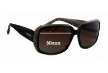 Bill Bass Unknown Replacement Sunglass Lenses - 60mm Wide